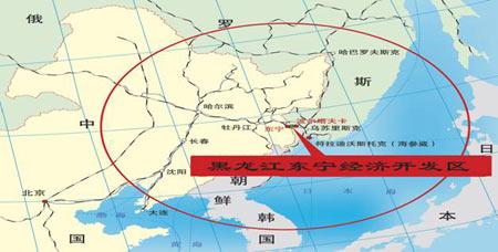 距俄远东地区最大港口城市海参崴143公里,最大的列车编组站和重工业